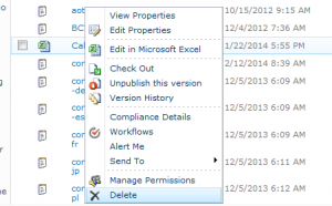 How to fix Document or List Item Cannot Delete on SharePoint