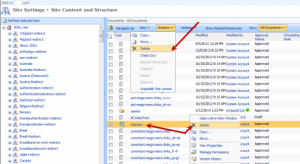 How to fix Document or List Item Cannot Delete on SharePoint3